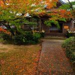 法輪山 覚苑寺 四季折々の花が咲き市民の憩いの場